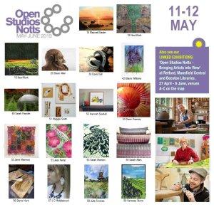 OSNotts Artists Photomontage: 11-12 May