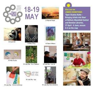 OSNotts artists photomontage 18-19 May
