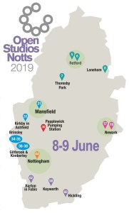 OSNotts events map 8-9 June