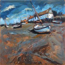 Susan Isaac - Low Tide (Burnham Overy Staithe)