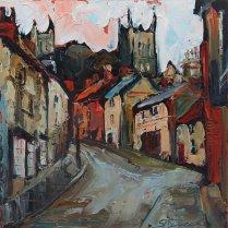 Susan Isaac - 'Steep Hill, Lincoln'