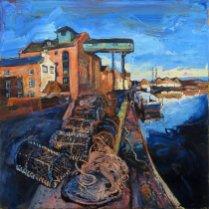Susan Isaac - 'The Granary at Wells-Next-The-Sea'