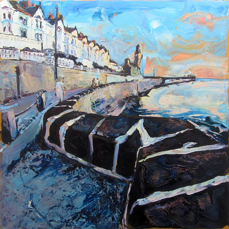 Susan Isaac - Towards the Evening Light Porthleven