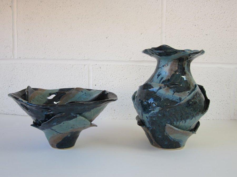 5 Sarah Burton - Layered Bowl and vase