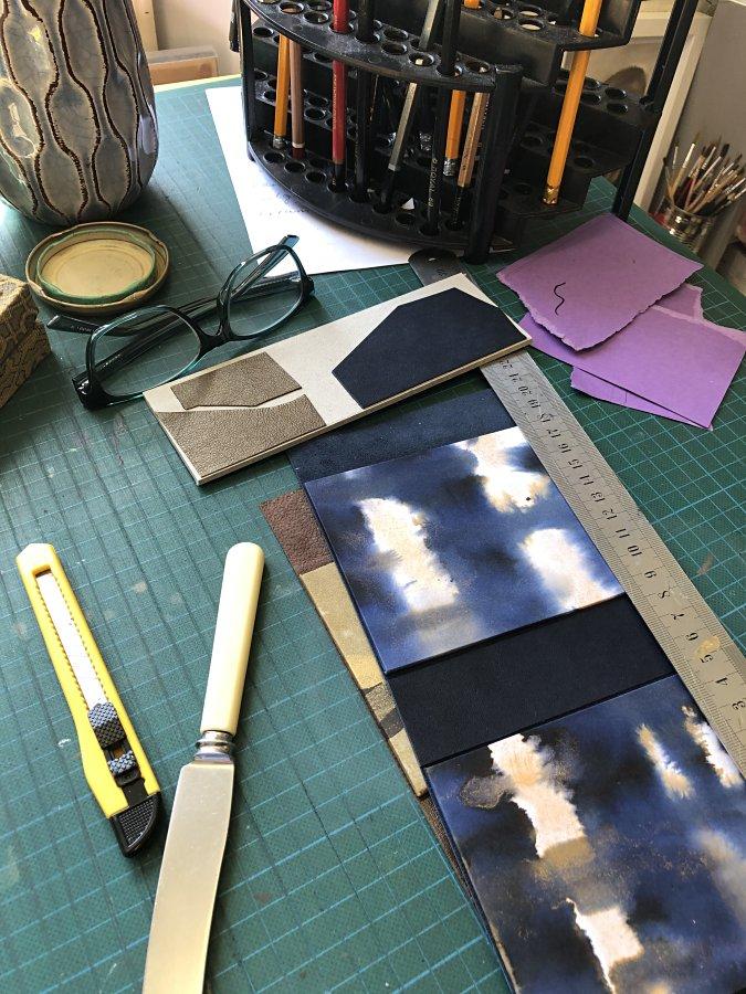 Cath Ray - studio