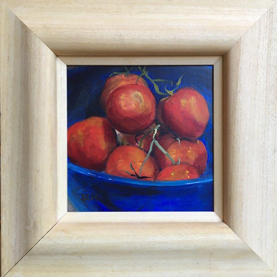 Horizon Tomatoes 33x33cm - SARAH NESBITT