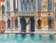 Venice pen and ink - Maxwell Neale