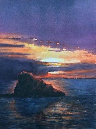 Sunset cap de cavelleria - Maxwell Neale