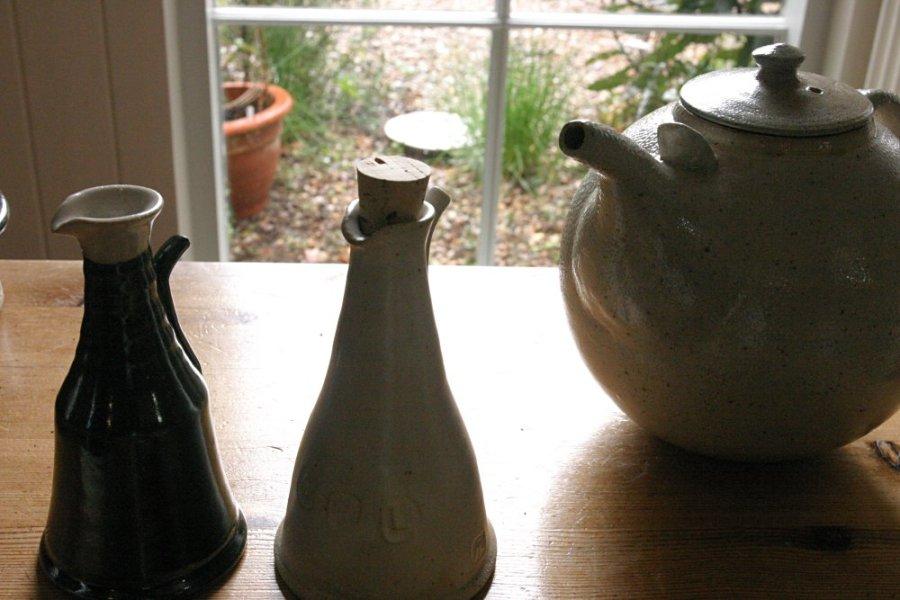 Ann Robbins 6 - Oil jars