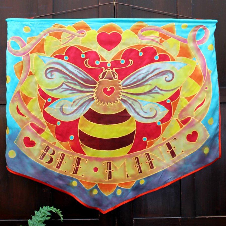JKemp work - Silk banner