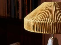 Janie Knitted Textiles - Geo Table lamp