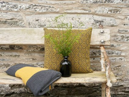 Janie Knitted Textiles - Tapestry cushion
