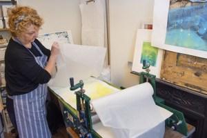 Jeannie Cark - print a plate