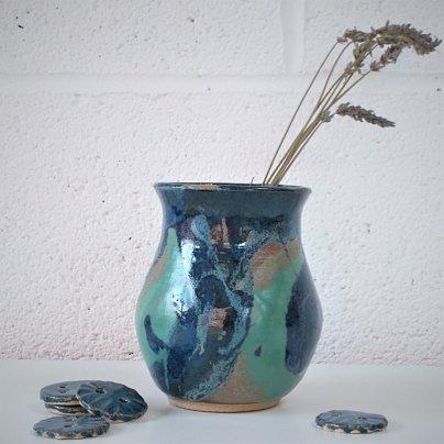 Sarah Burton - Turquoise vase