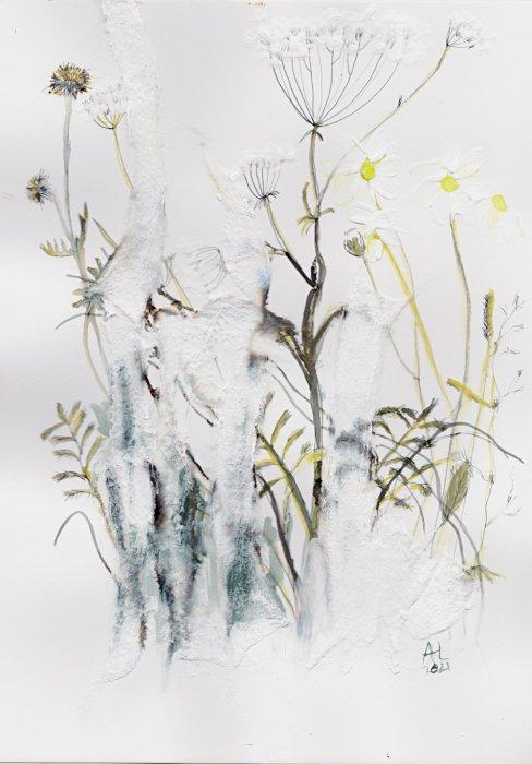 Ann Leech - Winter Grasses