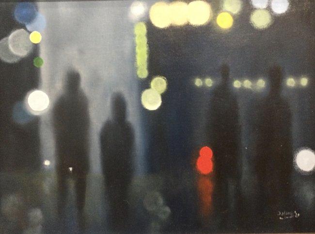 David Moore - Walking in the city