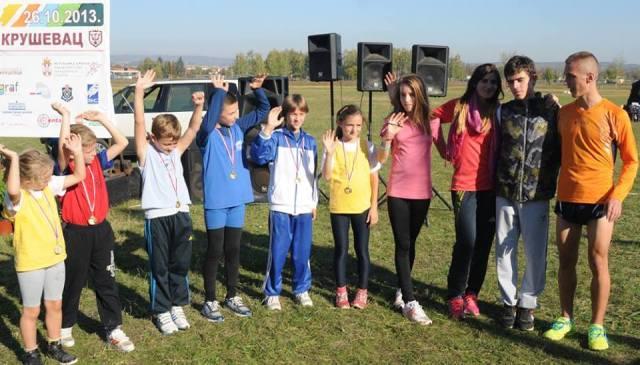 Proglasenje cetvorostrukih prvaka Krosa rts-a 26.10.2013