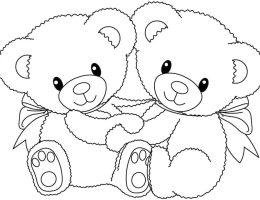 Dibujos De Ositos Bebes Para Colorear On Log Wall