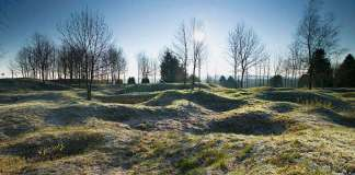 Ouvrage du Thiamont Battlefield