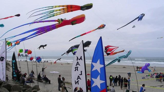 kite pflying
