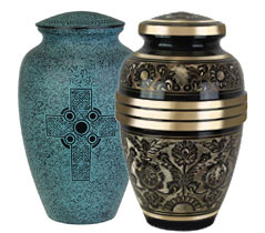 brass-urns