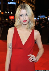 LONDON, ENGLAND - NOVEMBER 14: (EMBARGOED FOR PUBLICATION IN UK TABLOID NEWSPAPERS UNTIL 48 HOURS AFTER CREATE DATE AND TIME. MANDATORY CREDIT PHOTO BY DAVE M. BENETT/WIREIMAGE REQUIRED) Peaches Geldof attends the UK Premiere of 'The Twilight Saga: Breaking Dawn Part 2' at Odeon Leicester Square on November 14, 2012 in London, England. (Photo by Dave M. Benett/WireImage)