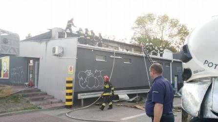 Pożar sklepu
