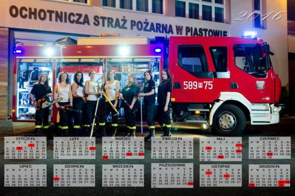 Kalendarz 2016 OSP Piastów1