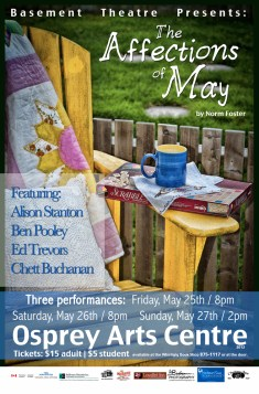 Basement Theatre Affections Of May