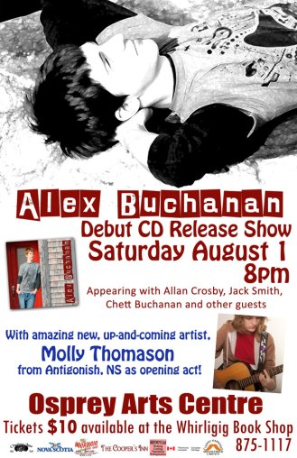 Alex Buchanan CD Release