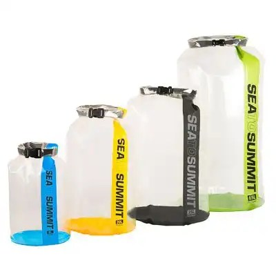 CLEAR Stopper Dry Bags 2