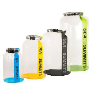 CLEAR Stopper Dry Bags
