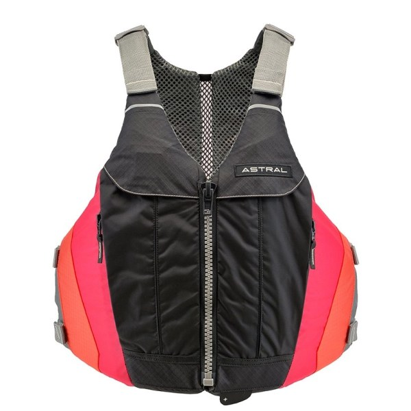 Astral Linda PFD crimson front view