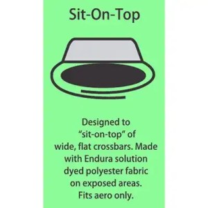 Sit-On-Top Aero Rack Pad