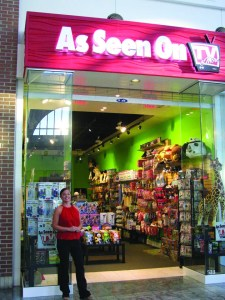 Sandra McCreery is the owner of the As Seen on T.V. Store at the Westfield Brandon Mall.