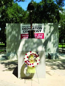 Iraq veterans Memorial