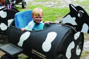 DakinDairyLogan Plato - Cow Train Ride