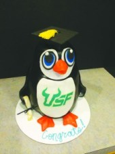 CakeGraduation Penguin Cake