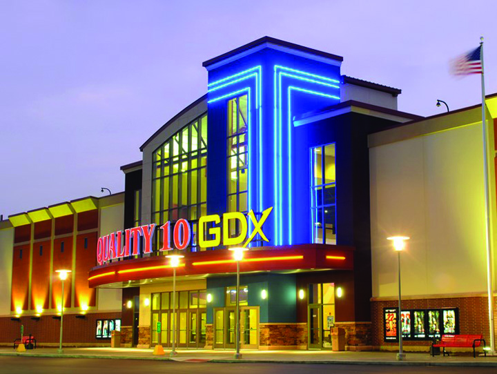 goodrich quality theaters plans new multiplex to anchor
