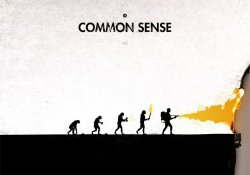 A evolução do ser humano em progressos diferentes