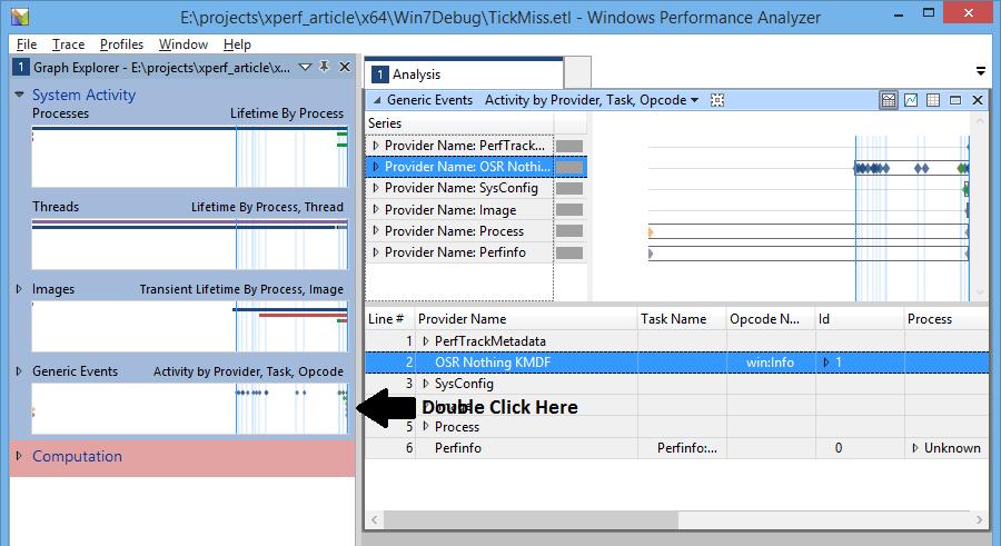 Figure 10 - Custom ETW Provider Data