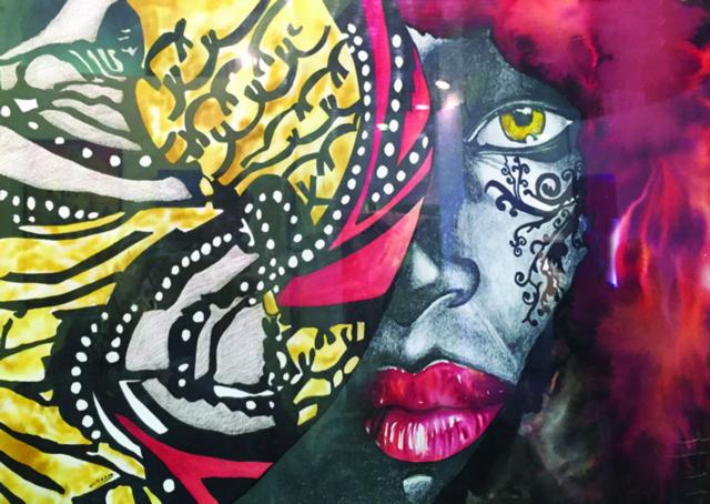 أفكار المرأة في لوحات فنية