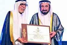 Photo of جائزة الشارقة للإبداع المسرحي للفنان إبراهيم الصلال