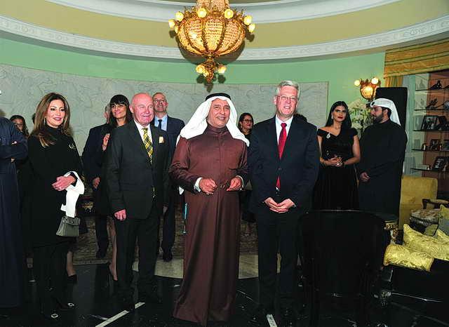 جائزة الإنجاز المتميز للشيخ مبارك فهد السالم الصباح من «أربيان بيزنس»