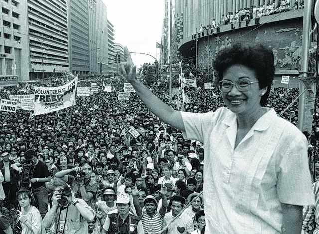 أول رئيسة دولة في آسيا