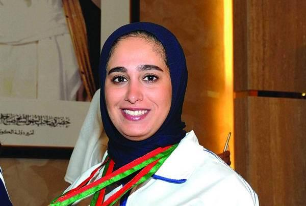 إيمان الشماع: فرحة لا توصف عندما أرفع علم الكويت على المنصة