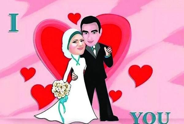 ليلـة العـمـر.. بالكاريكاتير.. أحدث موضة بين العرائس