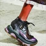 صنادل الصيف بوهيمية والأحذية للصباح والمساء