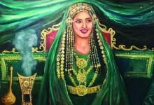 Photo of الفنانة التشكيلية ابتسام العصفور: أحلم بتعريف العالم بماضي بلادي وحاضره