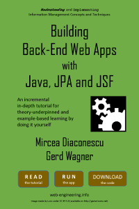 Building Back-End Web Apps with Java, JPA, and JSF